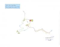 Plan de déviation RD 156