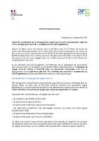 Projet CP – Rappel vaccinal – Opération A la rentrée tous vaccinés LPTT