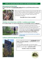 Rappel de quelques règles simples pour préserver nos forêts